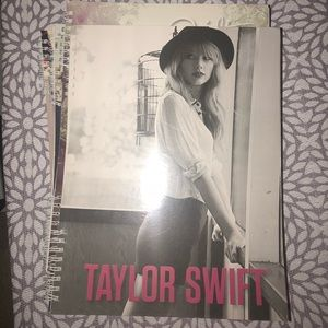 all taylor swift notebooks